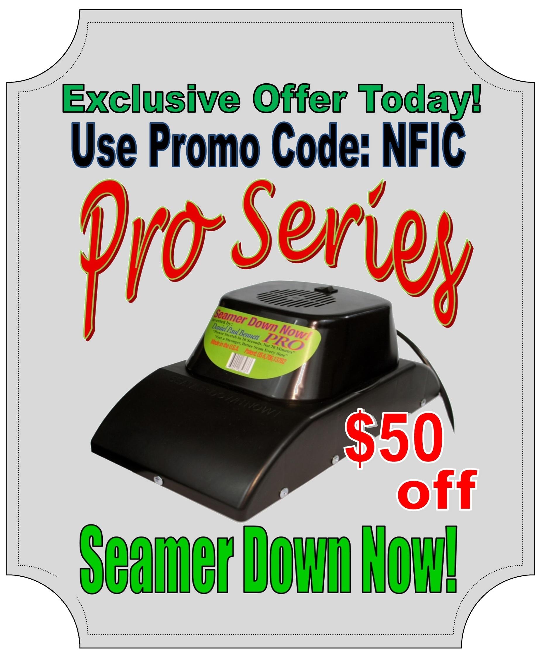 Seamer Down Now Pro LOGO 2014